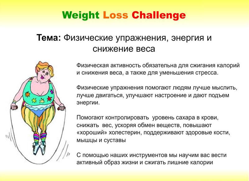 Снижение веса и фитнес в тренажерном зале